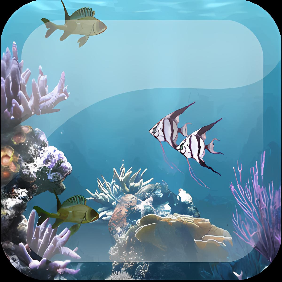 Ocean Aquarium Live Wallpaper 1