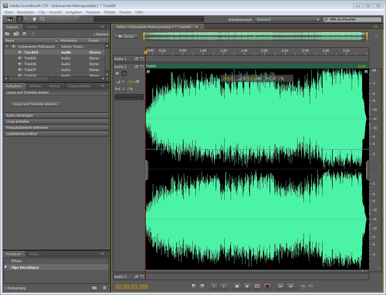Adobe Soundbooth CS5