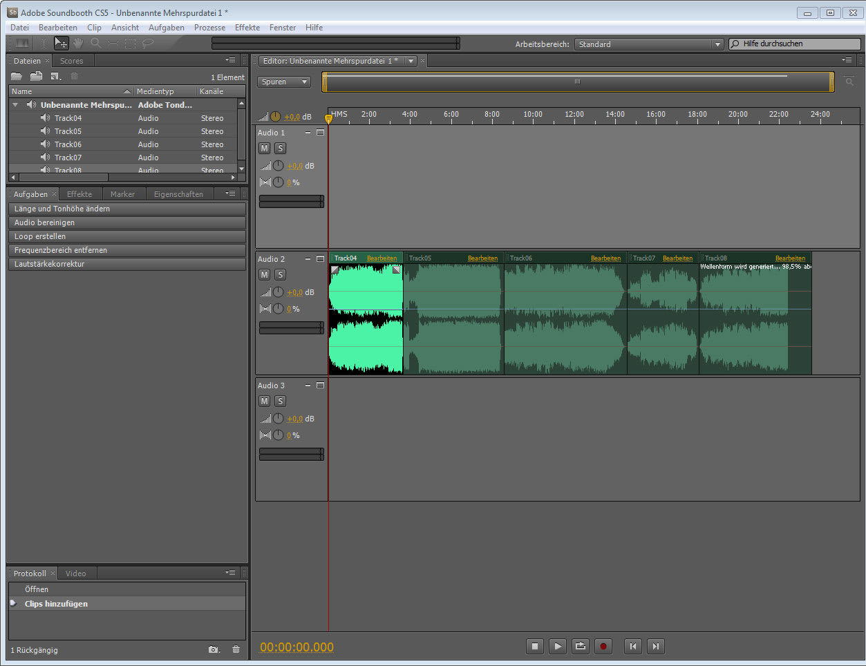 28 Keyboard Shortcuts for Adobe SoundBooth CS5
