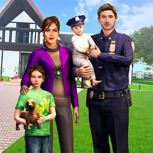 Virtual Families American Dad Police Family Games 1.0.0