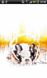 Dog Music Live Wallpaper