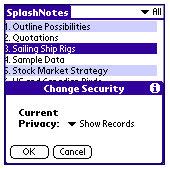 SplashNotes