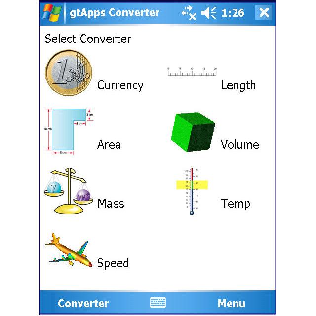 gtApps Converter