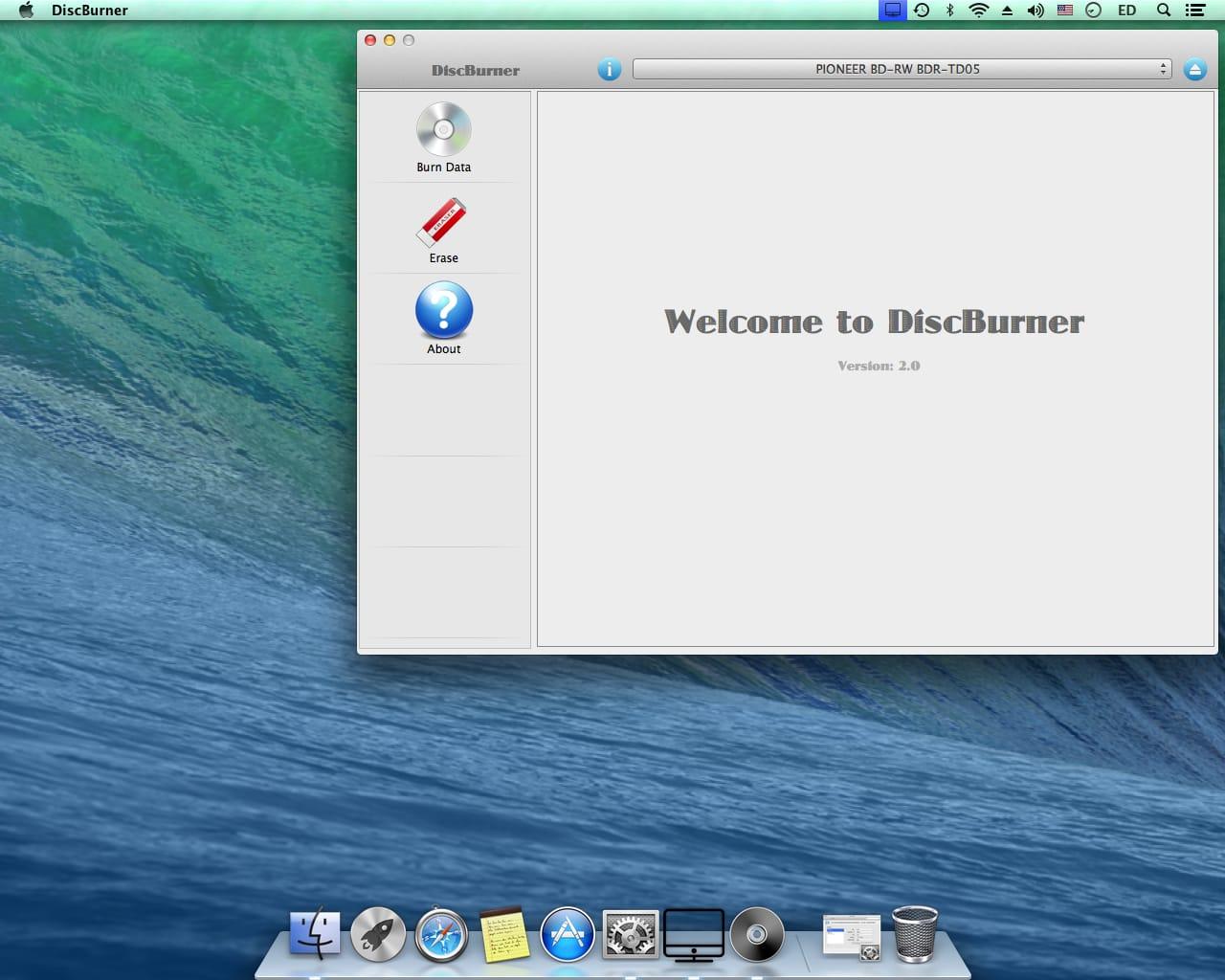 DiscBurner