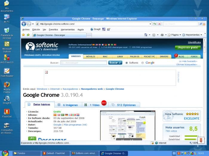 Chrome xp descargar for Window 3 nmat