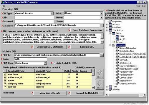Desktop2MobileDB BASIC
