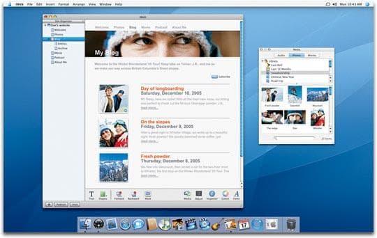 Apple iWeb
