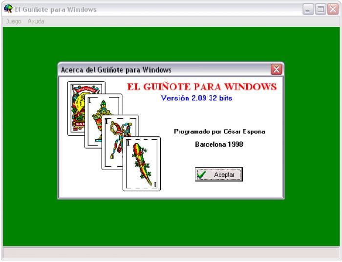 El Guiñote para Windows