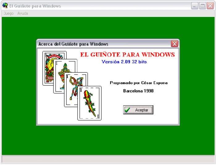 El Guiñote para Windows