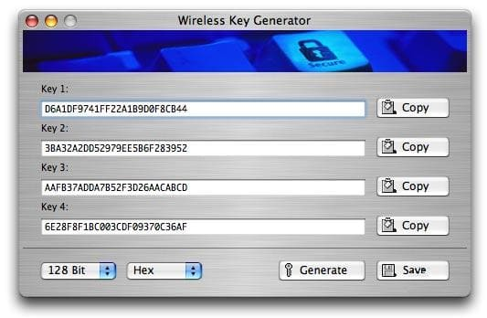 Wireless Key Generator