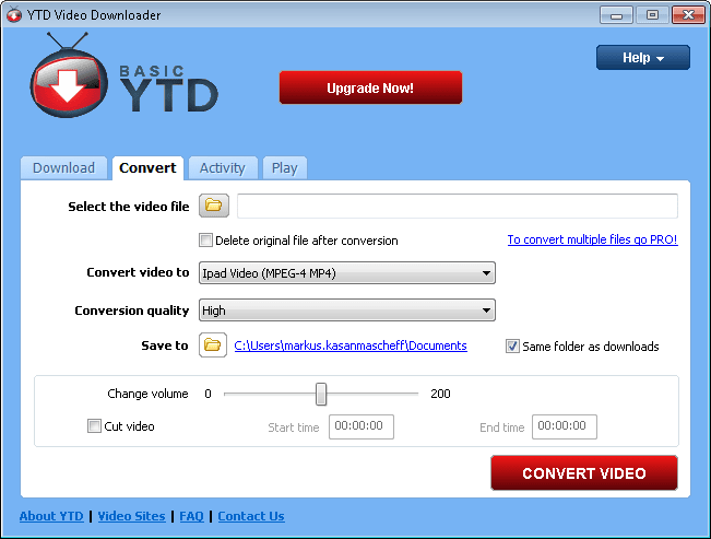 Ytd Video Downloader Is Simply An Excellent Tool For Saving Your Favorite Video Clips From Youtube And Other Video Websites View Full Description