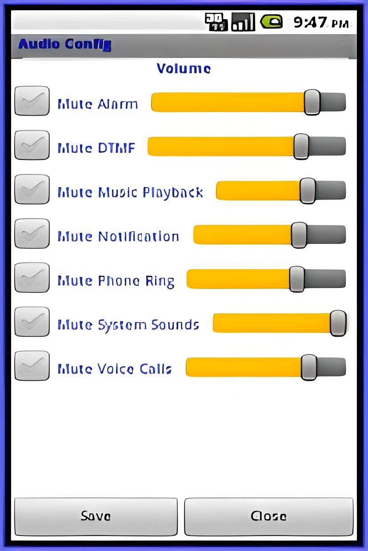 Audio Config