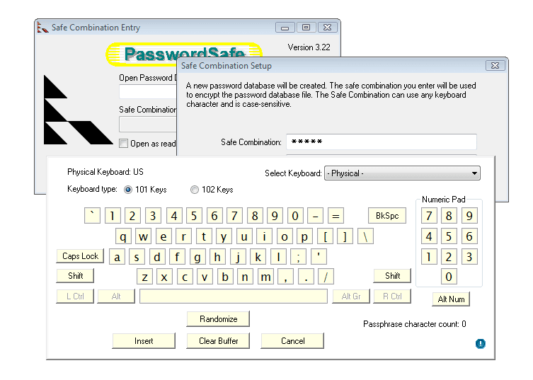 Password Safe 3.32
