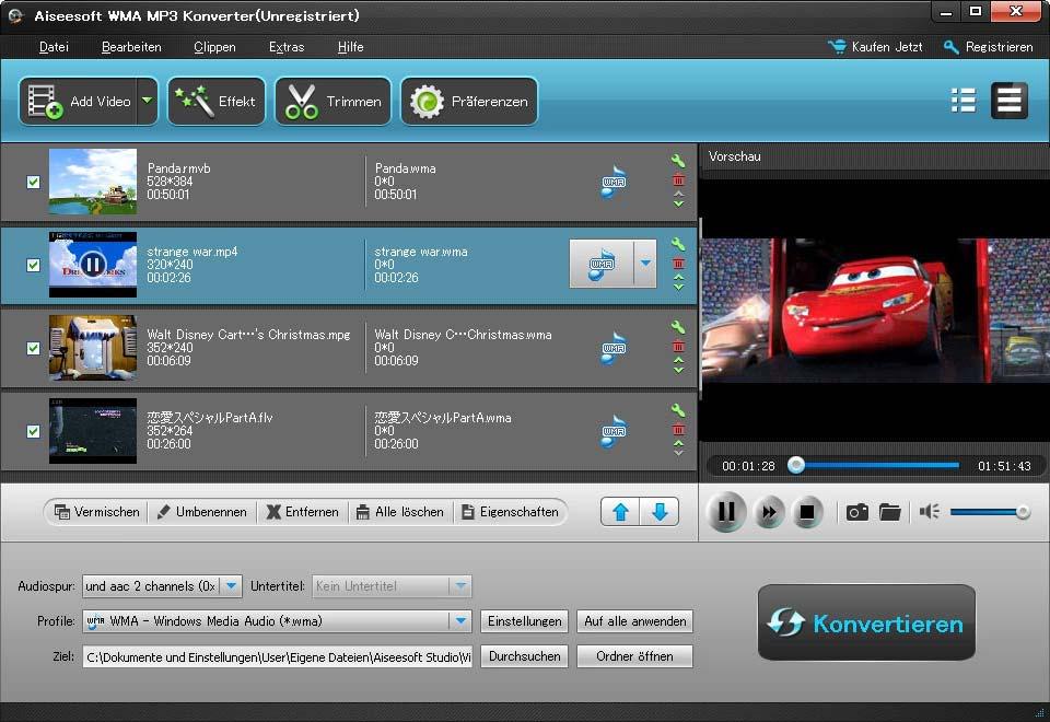 Aiseesoft WMA MP3 Konverter