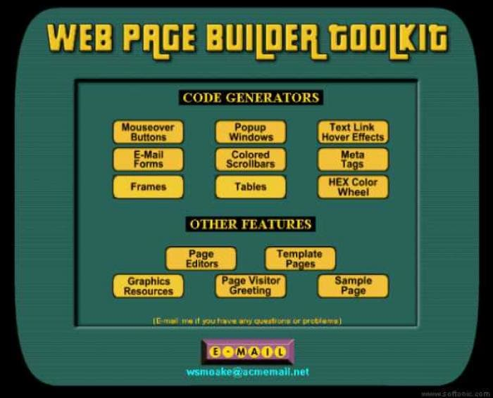 Web Page Builder Toolkit