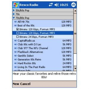 Resco Pocket Radio