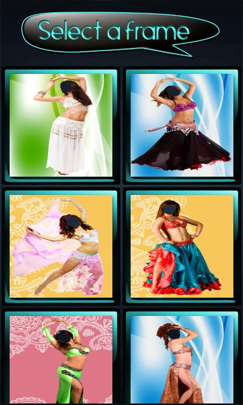 Oriental Women Photo Montage
