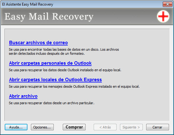 Easy Mail Recovery