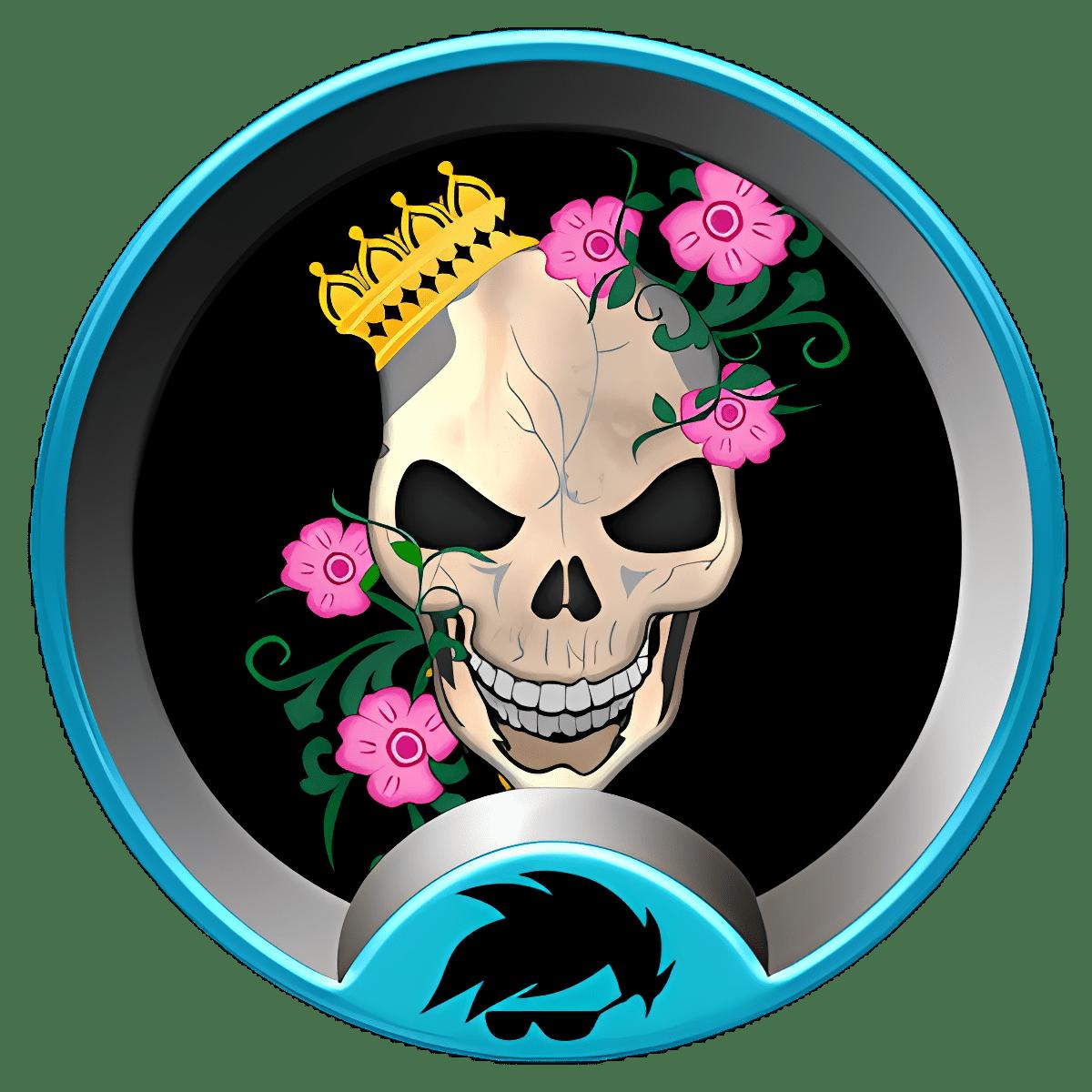 GO Launcher Skulls temático