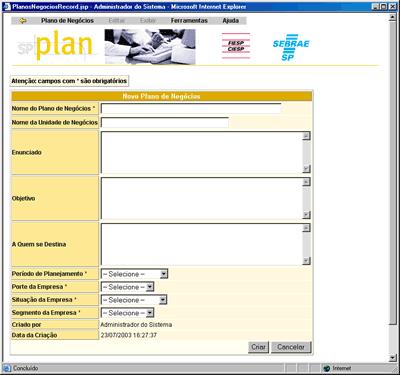 SP Plan