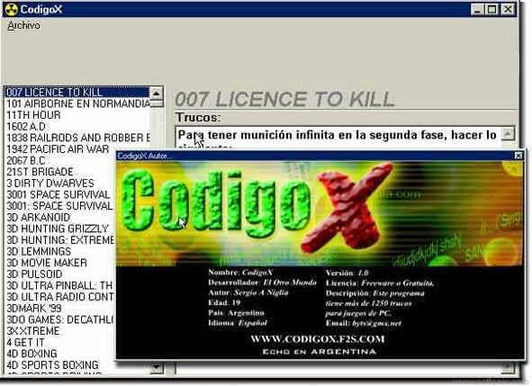 CodigoX