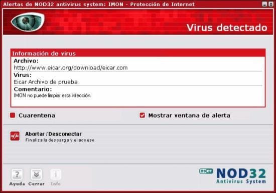 NOD32 Antivirus System