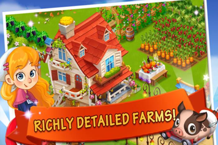 Happy Farm:Candy Day