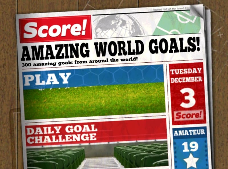 Score! World Goals
