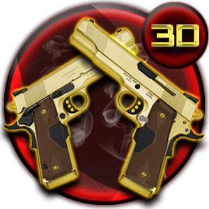 Golden Gun 3D Theme 1.1.4
