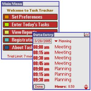 Task and Time Tracker 2005