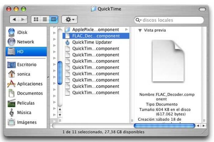QuickTime FLAC Plugin