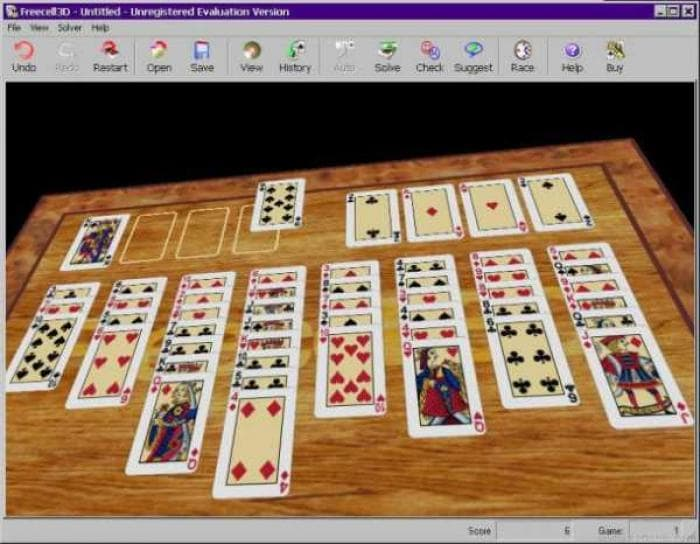 FreeCell 3D