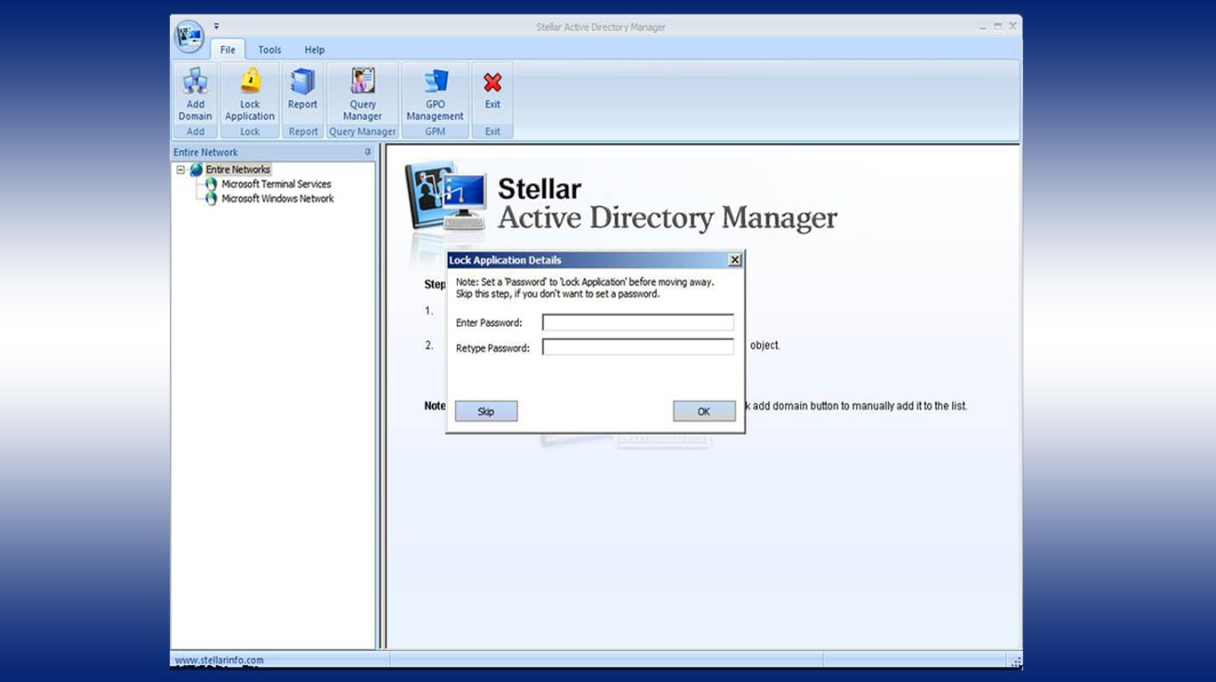 Stellar Active Directory Manager