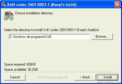 Koepi's XviD Codec