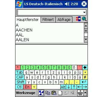 LingvoSoft Talking Dictionary 2008 Deutsch-Italienisch