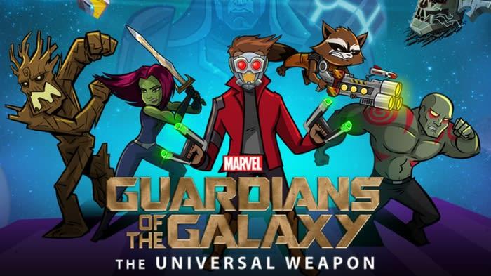 Marvel Les Gardiens de la Galaxie : l'Arme Universelle