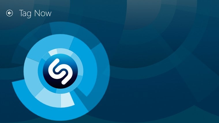 Shazam per Windows 10