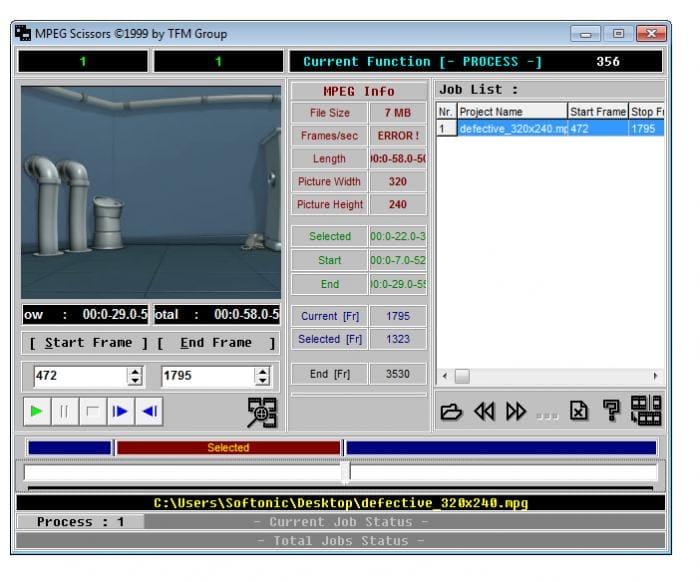 MPEG Scissors