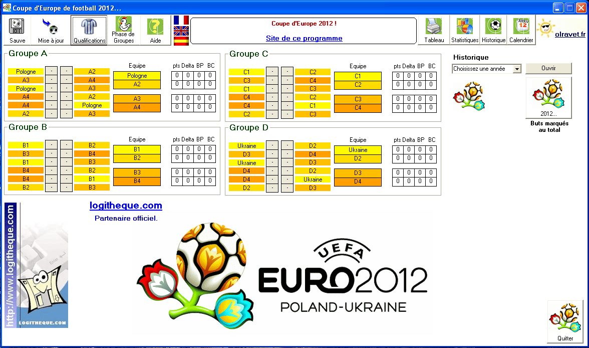 Coupe d'Europe de football 2012