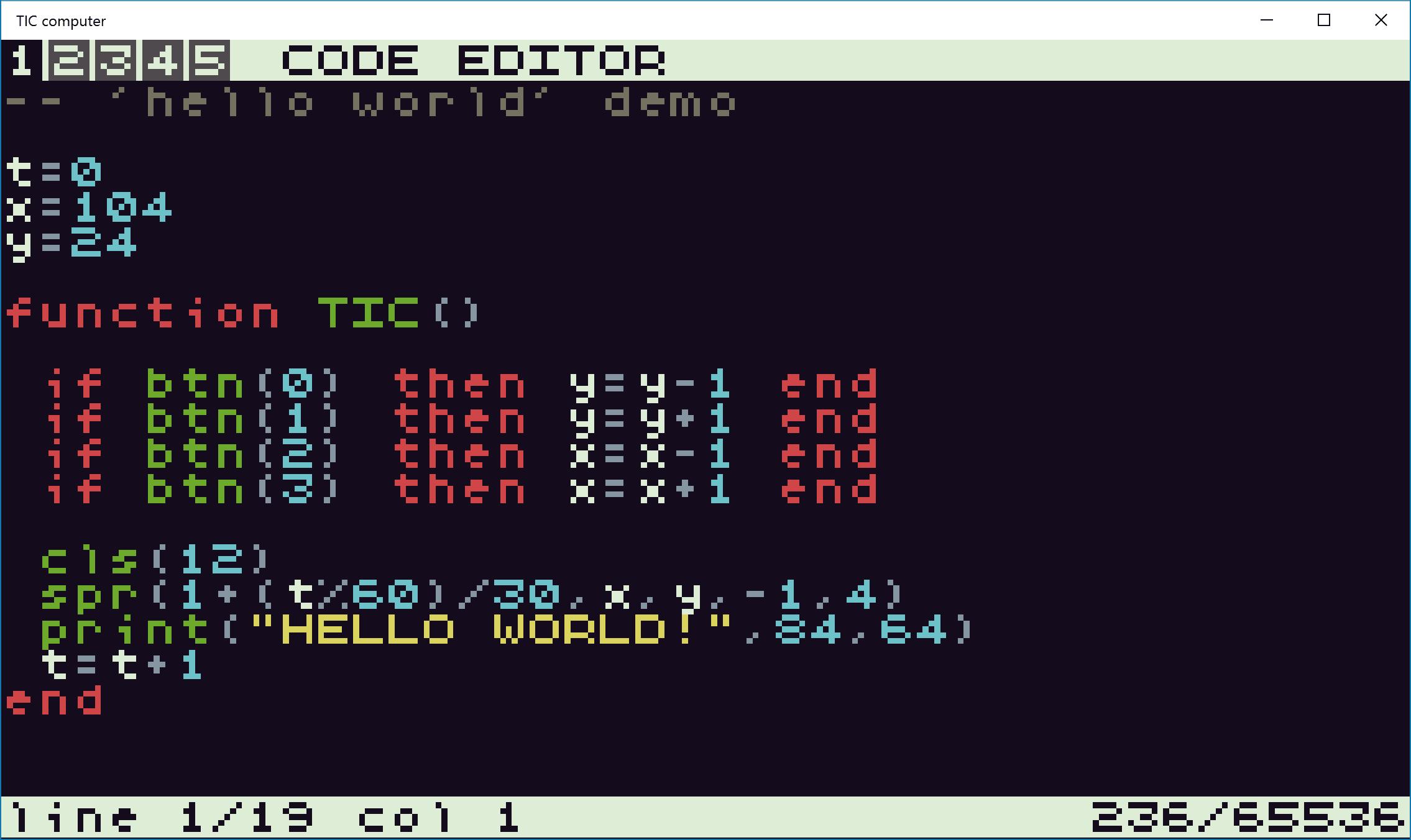 TIC computer