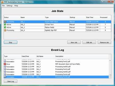 PDF Automation Server