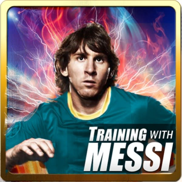 Training with Messi