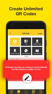 QR Code Reader: Barcode Scanner & QR Code Creator