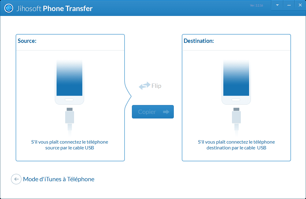 Jihosoft Handy-Datentransfer