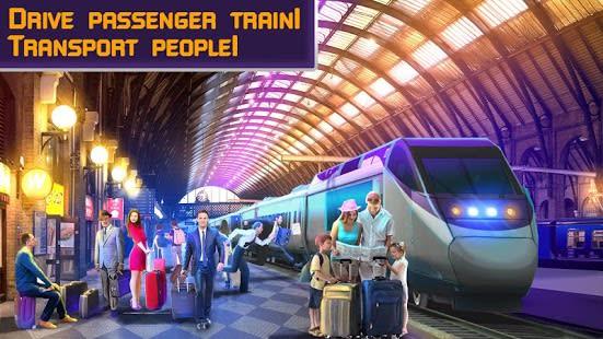 Passenger Train Driving