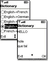 Language Dictionary