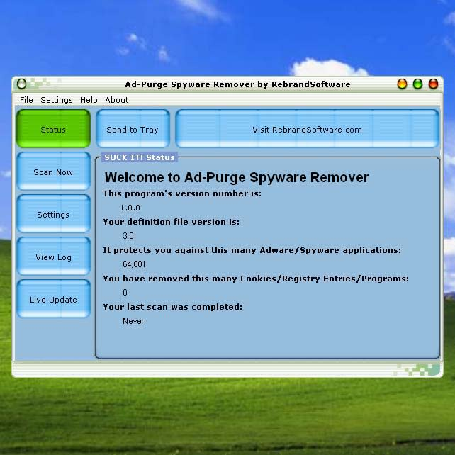 Ad-Purge Adware and Spyware Remover