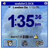 mobile Clock