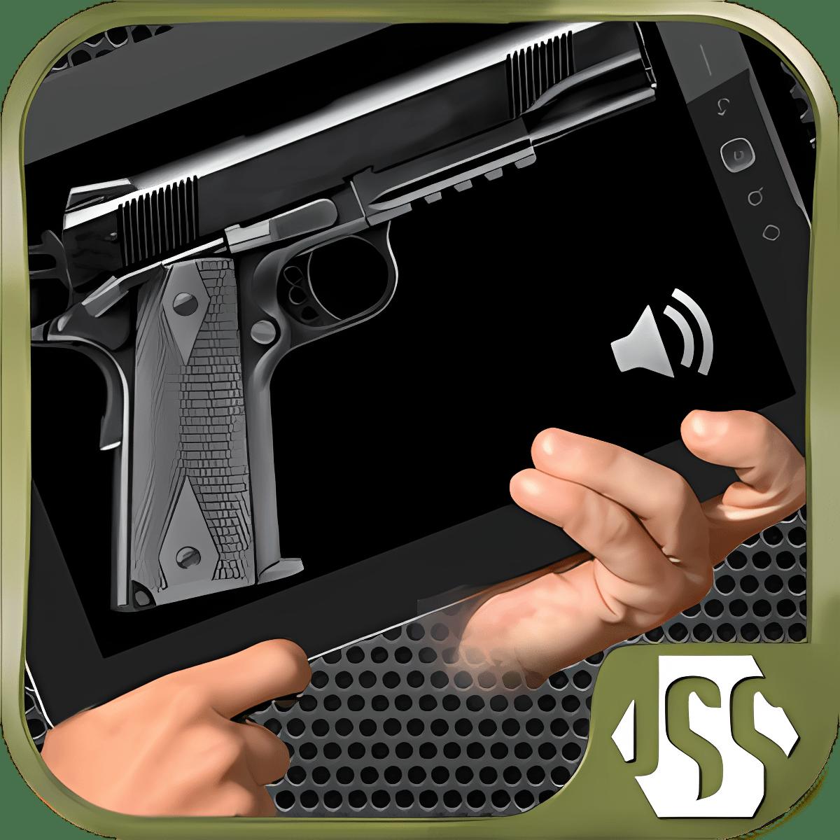 App Gun Simulador arma gratis 1.1