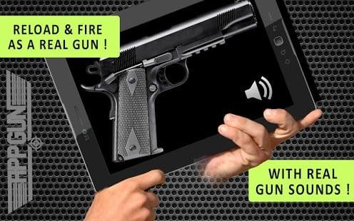 App Gun Simulador arma gratis